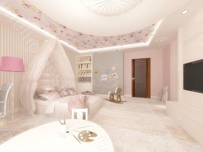 Pokój małej dziewczynki aranżacja różowego pokoju