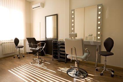 salon fryzjerski, salon mody, nowoczesny salon