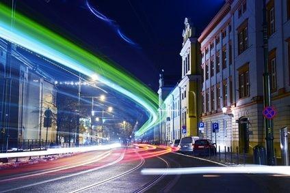Kraków nocą, inspiracje Kraków światła