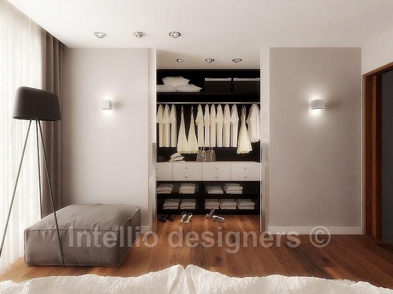 Garderoba przy sypialni, luksusowe miejsce w domu