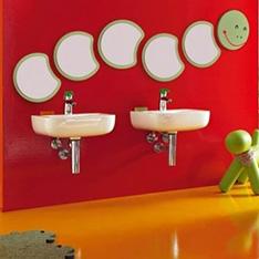 wnętrza kids umywalka dla dzieci łazienka dla dzieci wc dla dzieci kolorowy deska wolnoopadająca