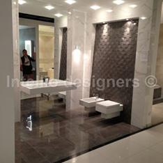 aranżacje i dekoracje łazienek - zdjęcia - płytki atlas concorde marvel mozaika dekoracyjna 3D