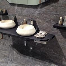 Aranżacje łazienek Porcelanosa Villarreal