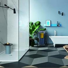 Aranżacje ekskluzywnych łazienek zucchetti Closer