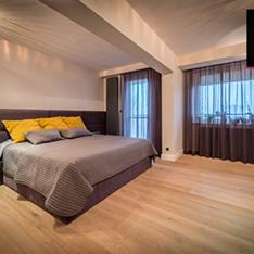 Sypialnia dla gości - projekt i dekoracja mieszkania