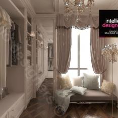 Garderoba Projekt apartamentu w Krakowie