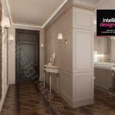 Projekt apartamentu w Krakowie