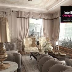 Apartament prezydenta. Interior designers - apartament in Cracow