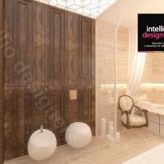Pokój kąpielowy Projekt apartamentu w Krakowie