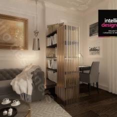 Duży apartamenty - luksusowe wnętrza
