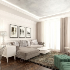 Mieszkanie, styl nowoczesny