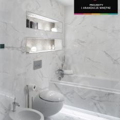 Projekty wnętrz łazienek Intellio designers