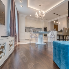 Projektanci wnętrz Intellio designers - zdjęcia salonu i kuchni