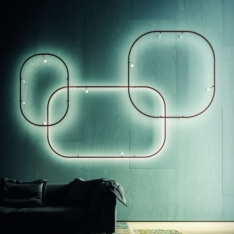 Awangardowe, nowoczesne,  minimalistyczne wnętrze – luksusowe oświetlenie Axo Light