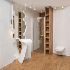 Wnętrza łazienek - realizacje i portfolio Intellio designers