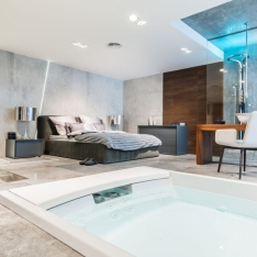 Aranżacje, projekty, dekoracje łazienek. Realizacje i portfolio Intellio designers