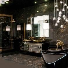 Ekskluzywne wnętrza, projekty łazienek autorstwa Intellio designers