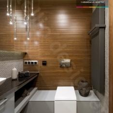 Stylowe wnętrza domu  - luksusowe łazienki