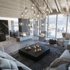 Dom w górach, całoroczny - Intellio Inspiracje - wnętrza domków górskich.