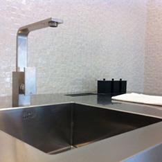 kuchnia z moziki białej wizyta intellio w fabryce PORCELANOSA