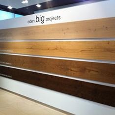 próbki drewna eden projekty wnętrz szkolenie FABRYKA PORCELANOSA