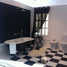 wanna wolnostojąca deszczownica toaleta bidet projekt wnętrza szkolenie w FABRYCE PORCELANOSA