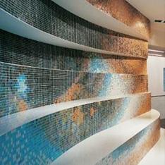 basen z mozaiki światło intellio.pl projekty wnetrz