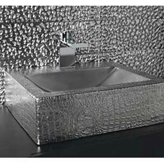 aranzacje dune szkolenie plytki srebrna umywalka szkło