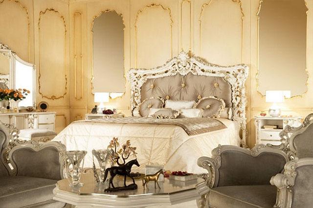 królewskie łoże