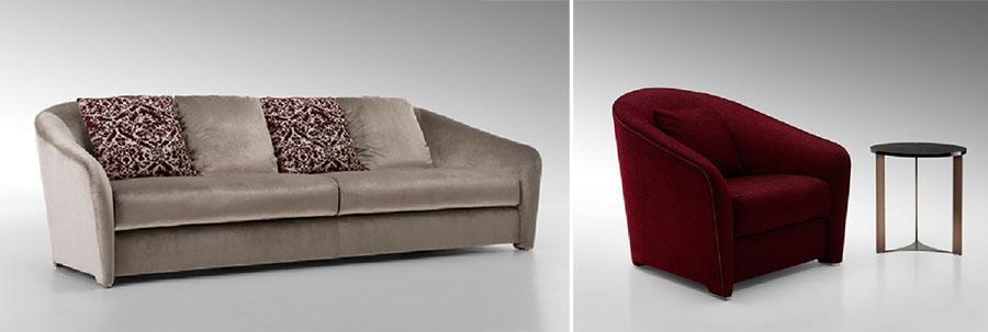 Sofa i fotel TIFFANY