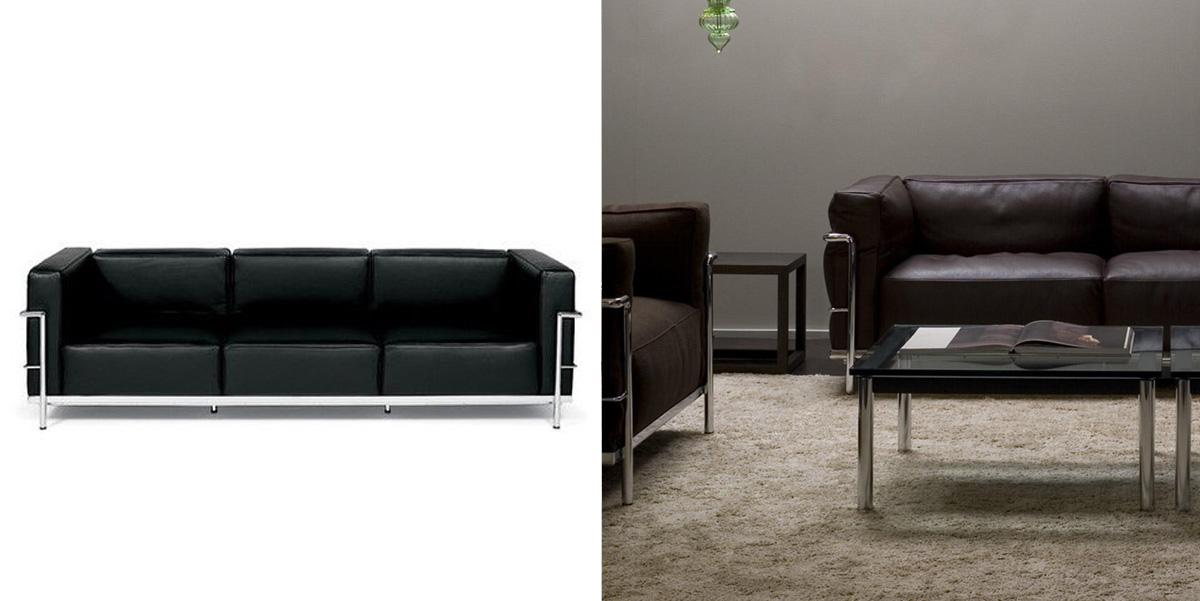 Sofa LC3  Kubik
