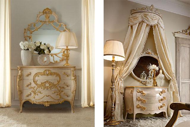 stylowe barokowe meble